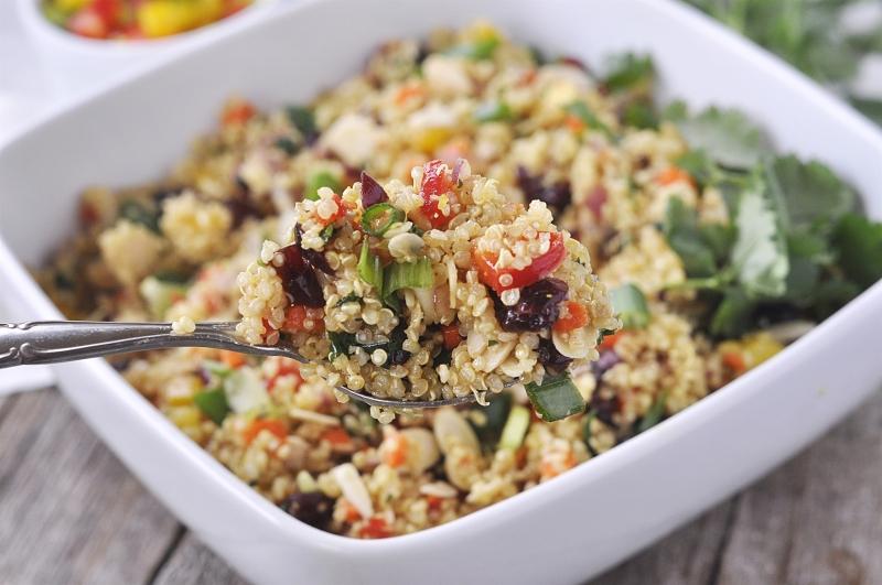 Cranberry and Cilantro Quinoa Salad – JennyBean_Love